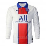 Camiseta Paris Saint-Germain 2ª Manga Larga 2020-2021