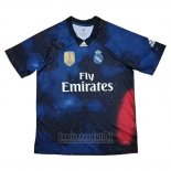 Camiseta Real Madrid EA Sports 2018-2019 Azul Tailandia