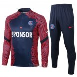 Chandal de Sudadera del Paris Saint-Germain 2020-2021 Azul