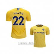 Camiseta Chelsea Jugador Willian 2ª 2018-2019