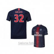 Camiseta Paris Saint-Germain Jugador Dani Alves 1ª 2018-2019