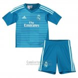 Camiseta Real Madrid Portero 2ª Nino 2018-2019