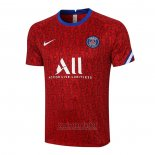 Camiseta de Entrenamiento Paris Saint-Germain 2020-2021 Rojo