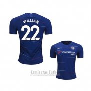 Camiseta Chelsea Jugador Willian 1ª 2018-2019