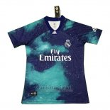 Camiseta Real Madrid EA Sports 202018-2019 Azul Tailandia