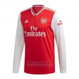 Camiseta Arsenal 1ª Manga Larga 2019-2020