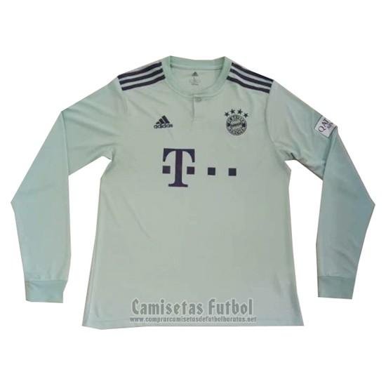 Camiseta Bayern Munich 2ª Manga Larga 2018-2019 barata 026da6e0b698b