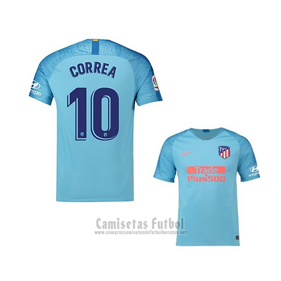 Camiseta Atletico Madrid Jugador Correa 2ª 2018-2019 barata 03cc5505f83