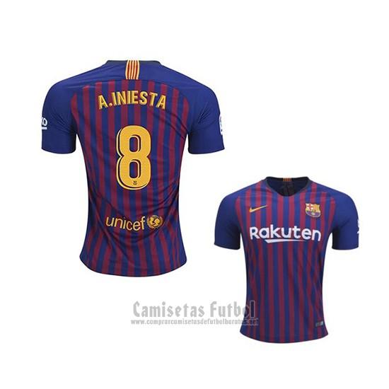 8dafb92e69 Camiseta Barcelona Jugador A.Iniesta 1ª 2018-2019 barata