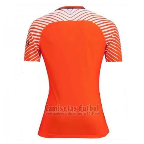 Camiseta Paris Saint-Germain Portero 2017-2018 Naranja barata f64281f5f0f40