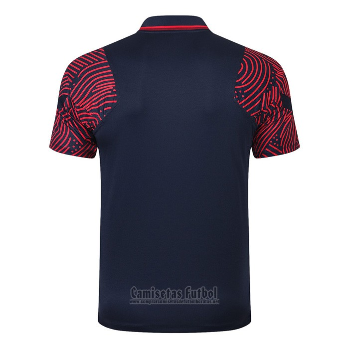 Camiseta Polo del Paris Saint-Germain 2020-2021 Azul