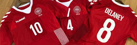Comprar la mejor de camiseta de futbol Dinamarca barata 2019 online