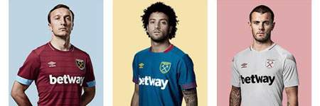 Comprar la mejor de camiseta de futbol West Ham barata 2019 online